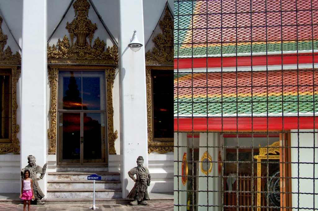 Bangkok diptychs: a tour of the city in pictures.