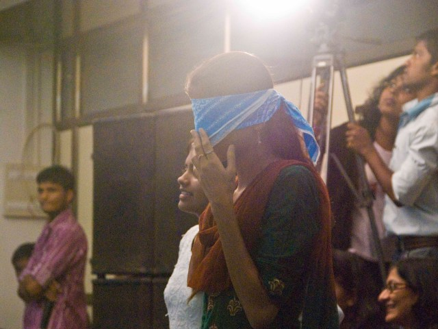 The Blindfold Govinda!