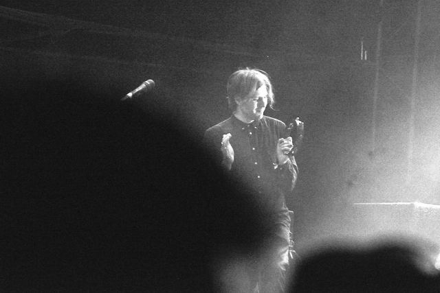 'Oooo, I wanna feel good' That's Daniel Blue making us all feel good too at the NH weekender concert.